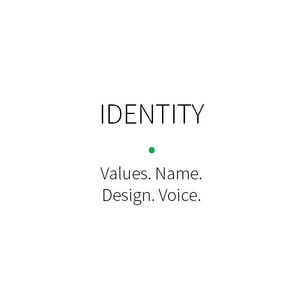 Brand identity give Voice, name and design to your brand.