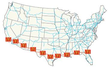 McD map