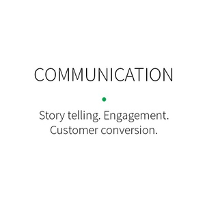 Communication is an important part of branding