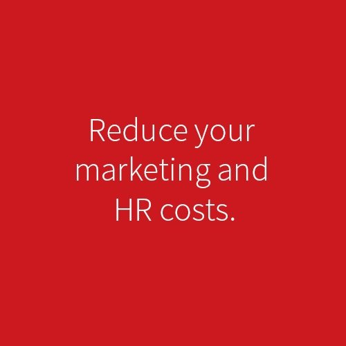 good branding an execution can reduce your marketing and sales costs