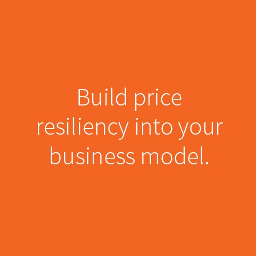 Price resiliency
